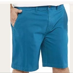The Foundry Flex Men's Shorts - Vint Indigo Lures
